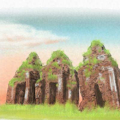 クオンミー遺跡 クアンナム遺跡群